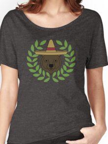 Sombrero Bear Women's Relaxed Fit T-Shirt