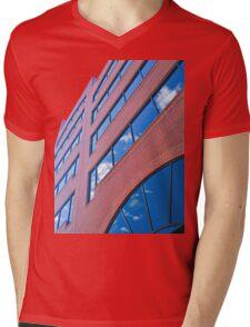 A Vivid Day Reflected  Mens V-Neck T-Shirt