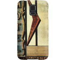 Vintage Arrow Motel Sign, Lompoc, CA Samsung Galaxy Case/Skin