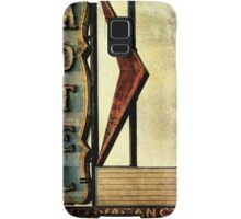 Vintage Arrow Motel Sign, Lompoc, CA Samsung Galaxy Case/Skin