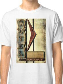 Vintage Arrow Motel Sign, Lompoc, CA Classic T-Shirt