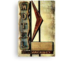 Vintage Arrow Motel Sign, Lompoc, CA Canvas Print