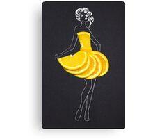 Taste of fashion. Canvas Print