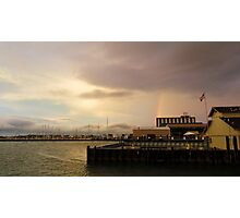 Rainbow Over Sandusky  Photographic Print