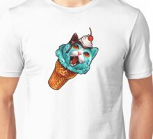Cat Cream Cone Unisex T-Shirt