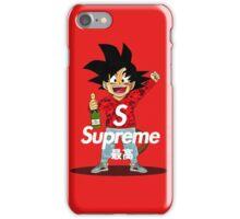 supreme feat goku iPhone Case/Skin