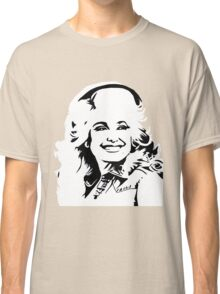 dolly parton black and white Classic T-Shirt