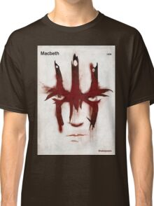 William Shakespeare - Macbeth Classic T-Shirt