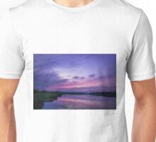 Twilight Time on Lake Unisex T-Shirt