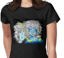Alluring Darkness Womens Fitted T-Shirt