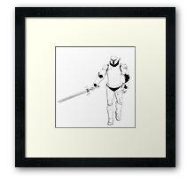 Animated Armour Framed Print