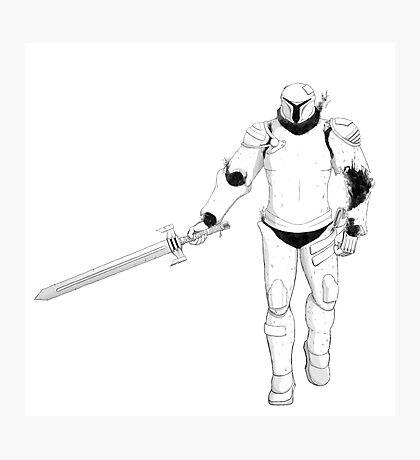 Animated Armour Photographic Print