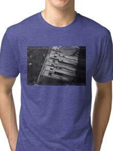 Autumn Piano Keys Tri-blend T-Shirt