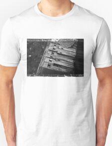 Autumn Piano Keys Unisex T-Shirt