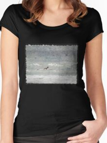 Waiting for Waves Women's Fitted Scoop T-Shirt