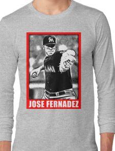 José Fernández Long Sleeve T-Shirt