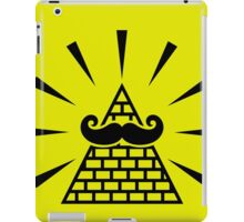 The great mystique mustache iPad Case/Skin