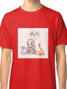 Pokemon , Game of Thrones , Mother of Dragon , Baby  Classic T-Shirt