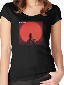 Cactus Band Women's Fitted Scoop T-Shirt