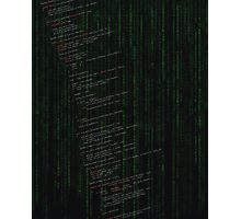 Linux kernel code Photographic Print
