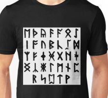 The Anglo-Saxon Futhorc Collected Unisex T-Shirt