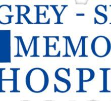 grey sloan memorial greys anatomy  Sticker