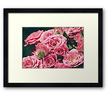 The Pink Sea Framed Print