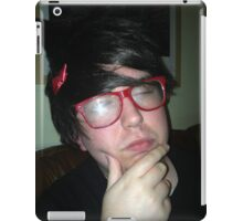Jimmy thinking iPad Case/Skin