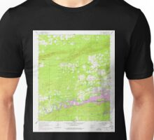 USGS TOPO Map Arkansas AR Point Cedar 259427 1966 24000 Unisex T-Shirt
