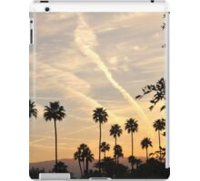 WHITE STREAKS IN A BLUE SKY iPad Case/Skin