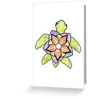 Watercolor Turtle Greeting Card