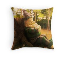 The Game of Gnomes Throw Pillow