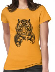 Tiger. Womens Fitted T-Shirt