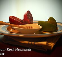 May Rosh Hashanah be sweet by su2anne