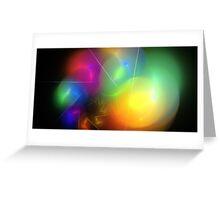 Helium Rainbow Greeting Card