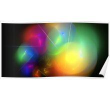 Helium Rainbow Poster