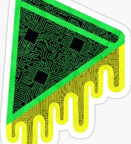 Short Circuit Pizza Sticker
