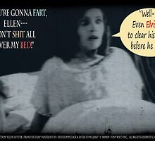 "'Ellen Hutter', FROM THE FILM "" Nosferatu vs. Father Pipecock & Sister Funk (2014)"" by TexWatt"