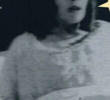 """'Ellen Hutter', FROM THE FILM """" Nosferatu vs. Father Pipecock & Sister Funk (2014)"""" Sticker"""
