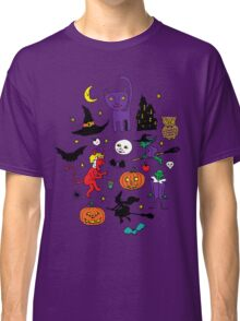 Retro Halloween Classic T-Shirt