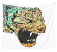 Sketch Patterned Tiger Wall Tapestry
