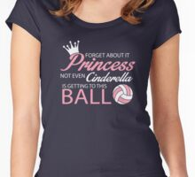 Girls volleyball shirts - USA college volleyball t-shirts Women's Fitted Scoop T-Shirt