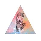 Catskin Nebula Triangle by Cat Bruce