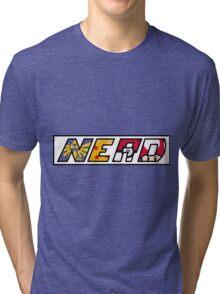 NERD travel mug Tri-blend T-Shirt