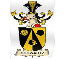 Schwartz Coat of Arms (Austrian) Poster