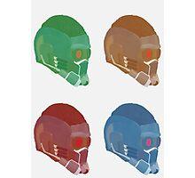 Star Lord Helmet Photographic Print