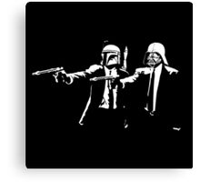 Pulp Fiction-Starwars Canvas Print
