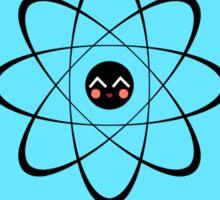 Think like a proton - BLUE Sticker