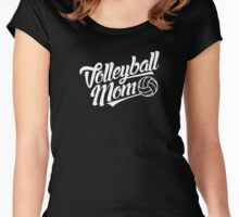 Volleyball Mom Shirt - Volleyball t-shirt Women's Fitted Scoop T-Shirt