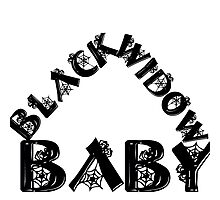 BLACK WIDOW BABY 2 Photographic Print